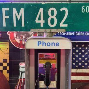 panneaux verts des rues américaines 90.5x23cm fm 482 600 1