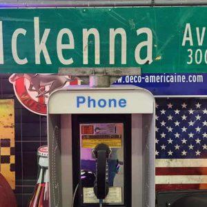 panneaux verts des rues américaines 90.5x23cm mckenna ave 300 1