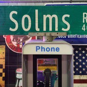 panneaux verts des rues américaines 90.5x23cm s solms rd 400