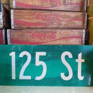 panneaux de rue americaine vintage et authentique 61x23cm 125 st goodies et collectibles