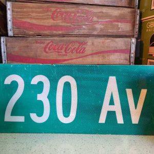 panneaux de rue americaine vintage et authentique 61x23cm 230 av goodies et collectibles