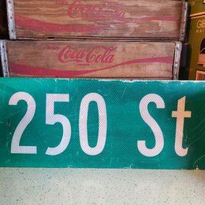 panneaux de rue americaine vintage et authentique 61x23cm 250 st goodies et collectibles