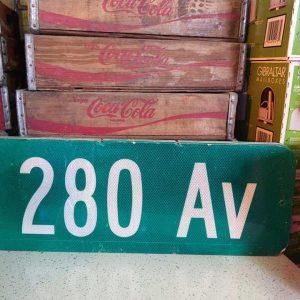 panneaux de rue americaine vintage et authentique 61x23cm 280 av goodies et collectibles