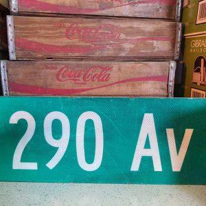 panneaux de rue americaine vintage et authentique 61x23cm 290 av goodies et collectibles