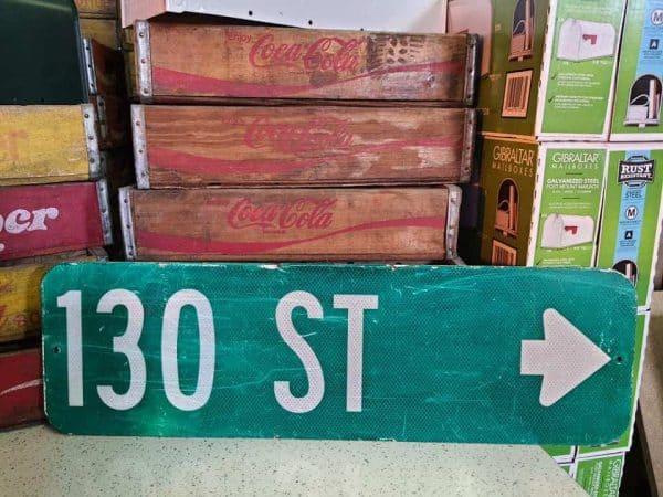 panneaux de rue americaine vintage et authentique 76x23cm 130 st goodies et collectibles