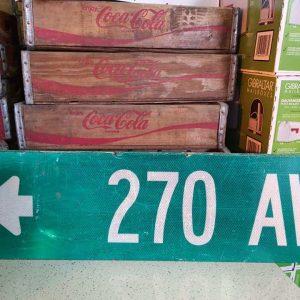 panneaux de rue americaine vintage et authentique 76x23cm 270 av goodies et collectibles