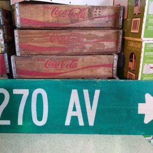 panneaux de rue americaine vintage et authentique 76x23cm 270 av goodies et collectibles 1