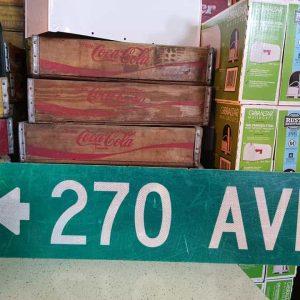 panneaux de rue americaine vintage et authentique 97x23cm 270 av goodies et collectibles