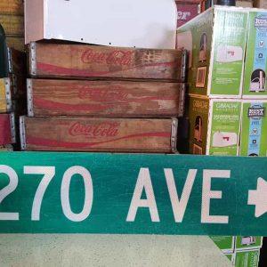 panneaux de rue americaine vintage et authentique 97x23cm 270 av goodies et collectibles 1