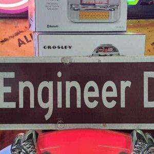 panneaux de rue americaine vintage et authentique 61x15cm engineer drive goodies et collectibles