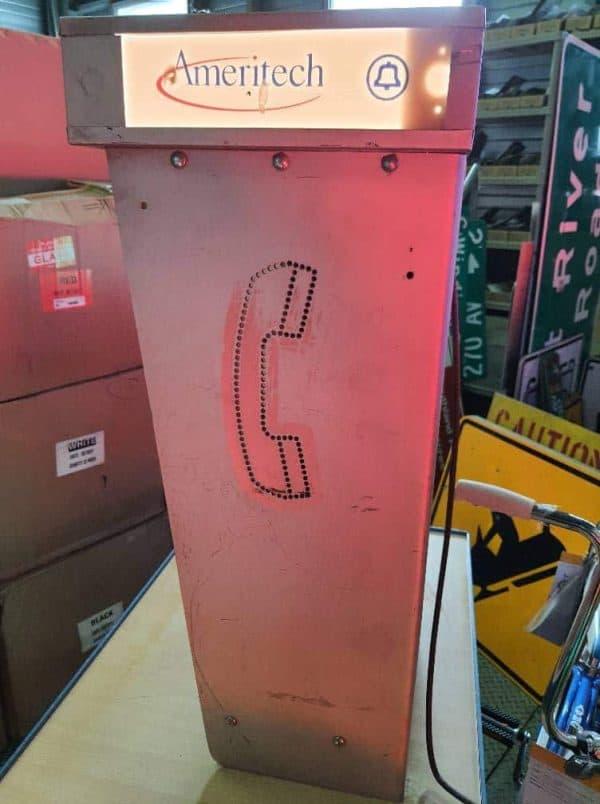 cabine murale payphone 1970 ameritech 12