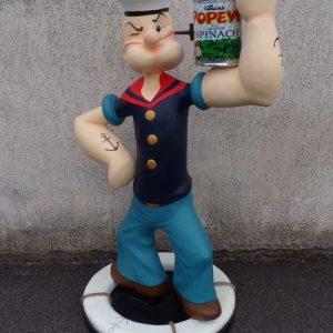 Cinema - Statue de Popeye, le celebre marin de dessin anime