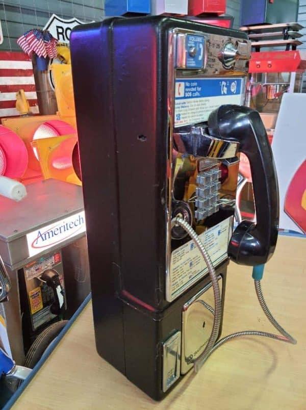payphone de rue americain vintage . originaux 1a