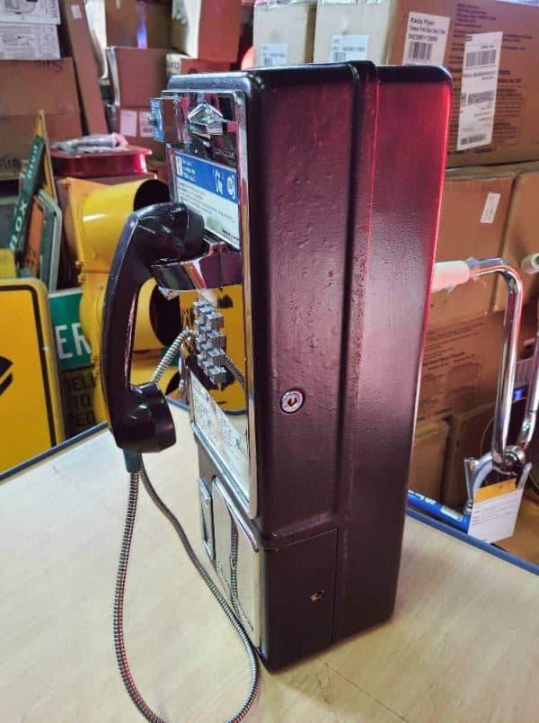 payphone de rue americain vintage . originaux 1b