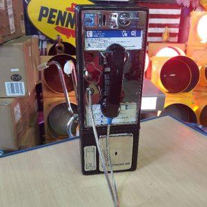 payphone de rue americain vintage . originaux 2