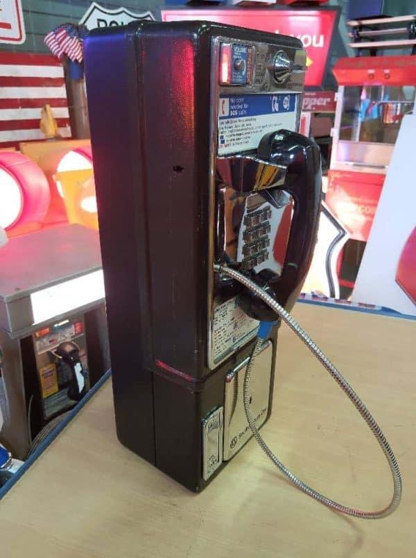 payphone de rue americain vintage . originaux 2a