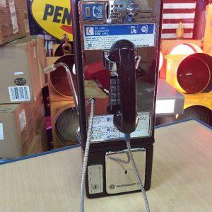 payphone de rue americain vintage . originaux 3