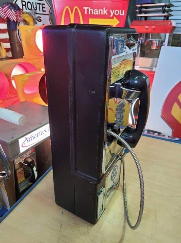 payphone de rue americain vintage . originaux 4a
