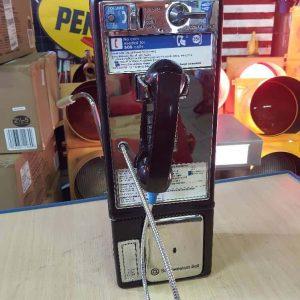 payphone de rue americain vintage . originaux 6