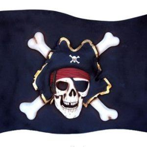pirate drapeau pirate en bois